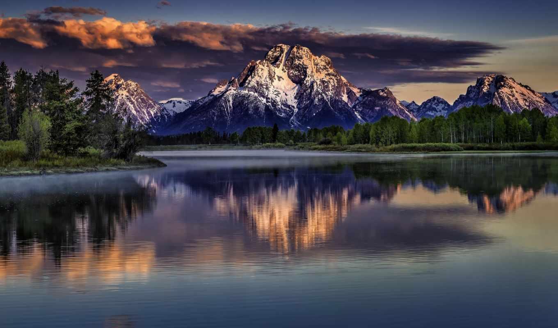 красивый, пейзажи, elements, горы, озеро, природа, неописуемо,
