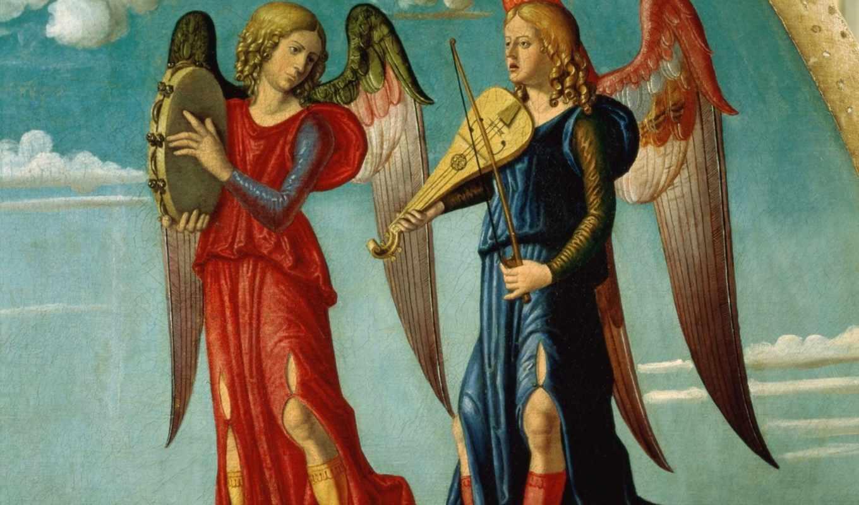 ангелы, разных, коллекция, демоны, разрешениях,