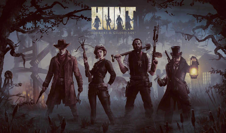 лица, игры, третьего, hunt, игре, видом, июнь, gilded, horrors, age,