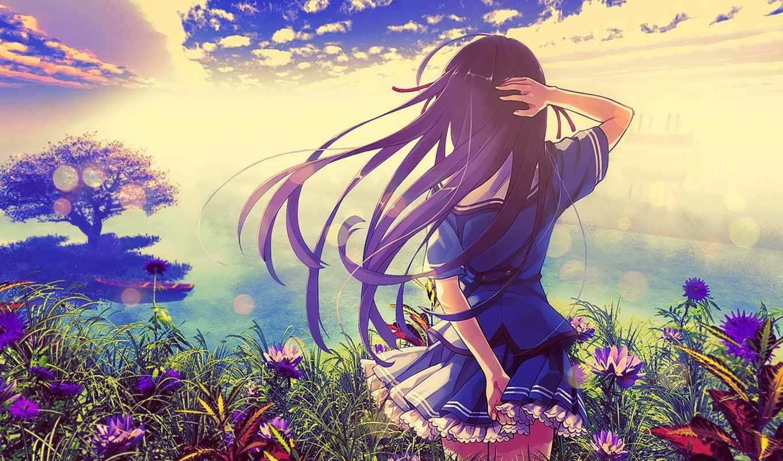 anime, девушка, edm, best,