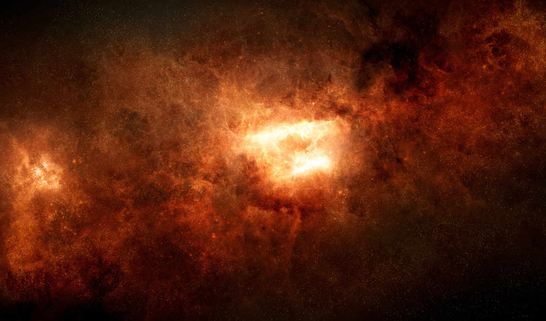 звезды, туманность, свечение, aion, картинка,