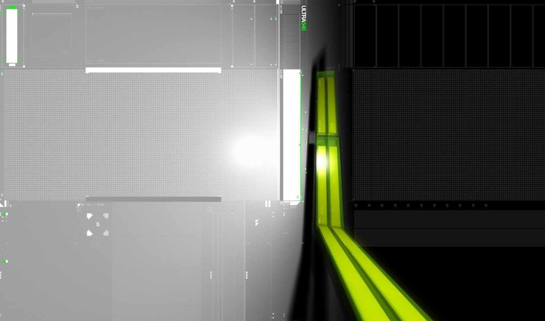 свет, картинка, серый, зелёный,