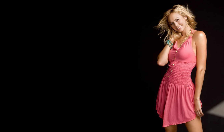платье, blonde, девушка, martha, розовом, голову, платья, блондинки, stacey,