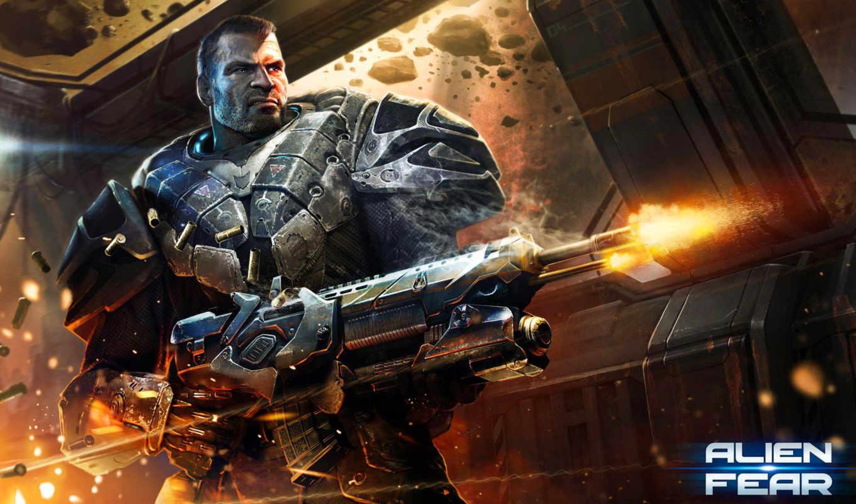 alien, rage, комментариев, shooter, солдат, игры, красивые, фронтовой, online, fear, истребитель,