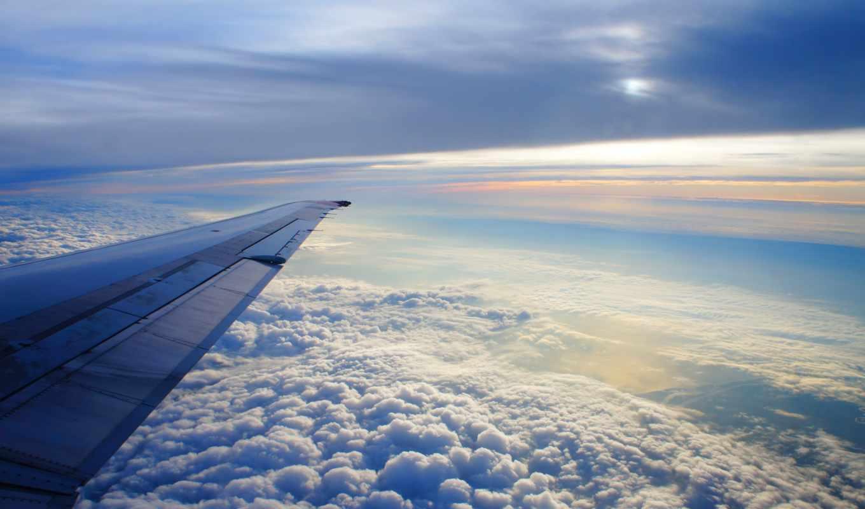 небо, oblaka, самолёт, самолета, крыло, полет, бондарь, земли, height, самолеты,
