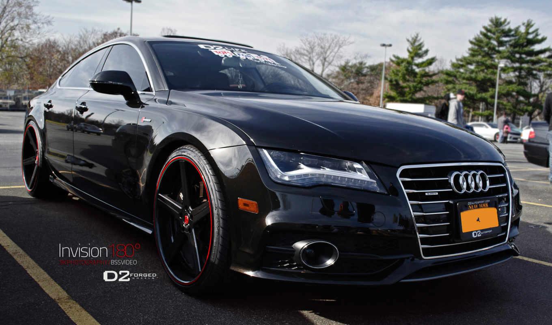 ауди, black, wheels, concave, deep, forged, цв,