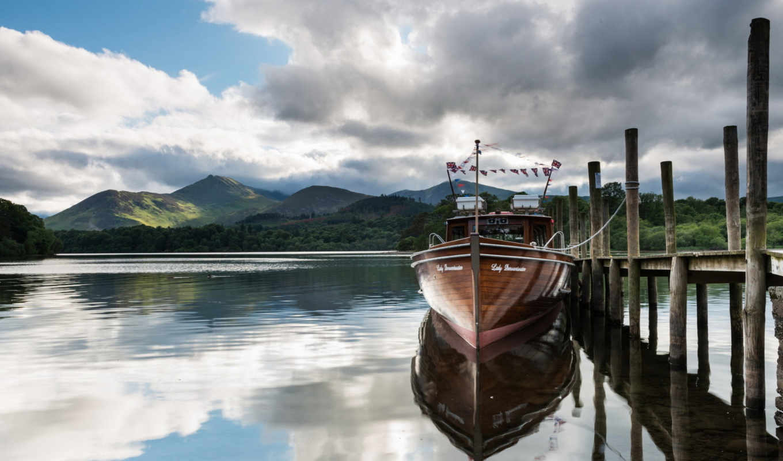 barco, muelle, ships, лодка,