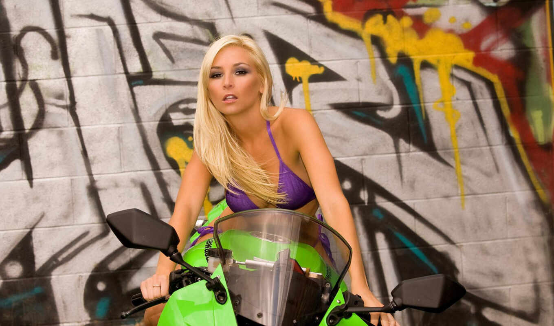 tashia, bikes, sexy, girls, with, kawasaki,