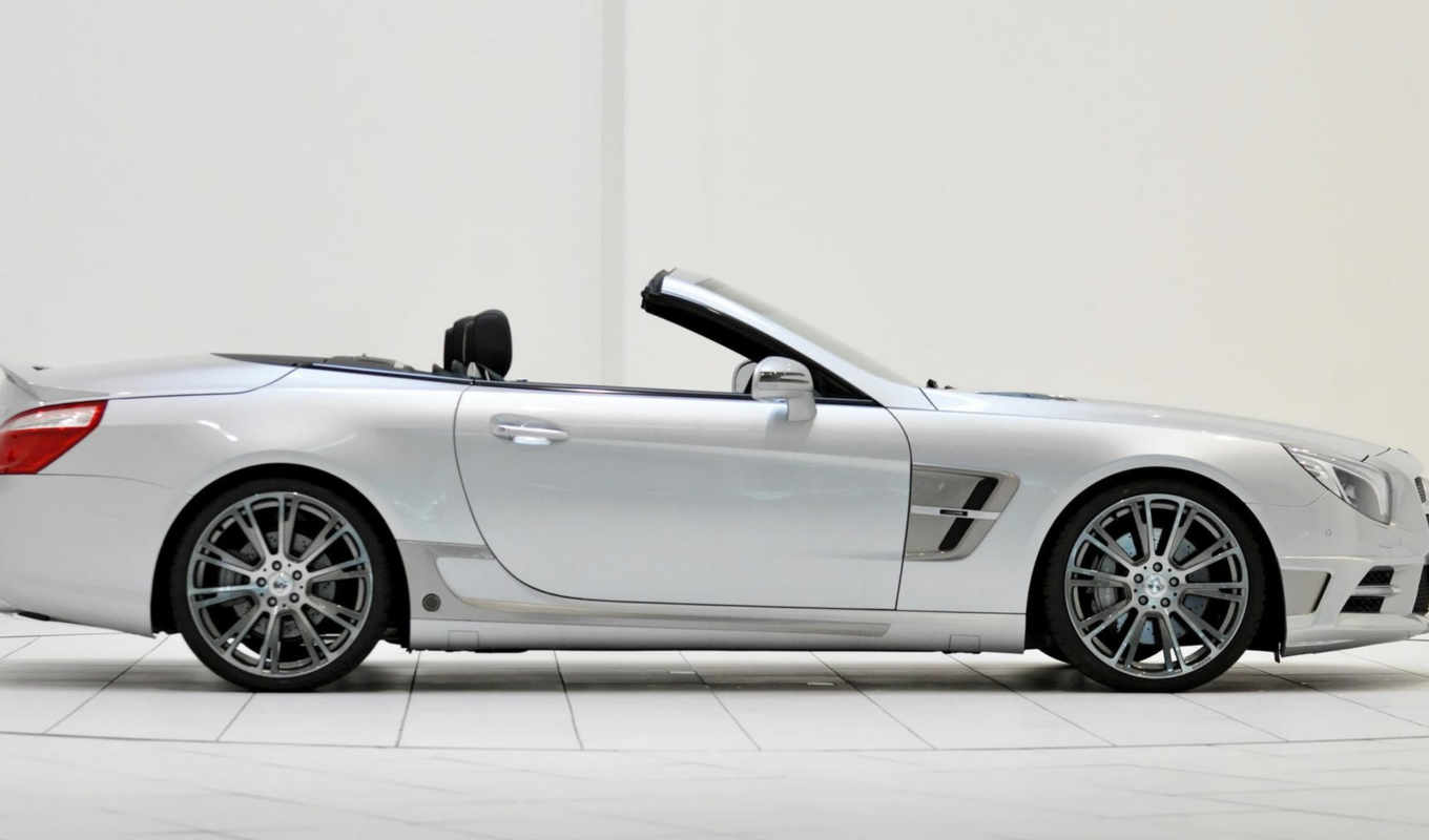 brabus, mercedes, benz, class, roadster, view, photos, side,