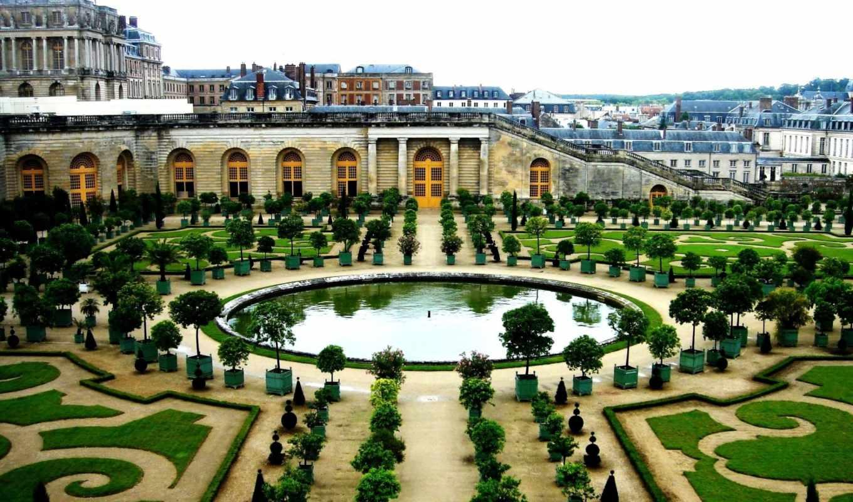 версаль, сад, франция, архитектура, здания, arhitektura, код,