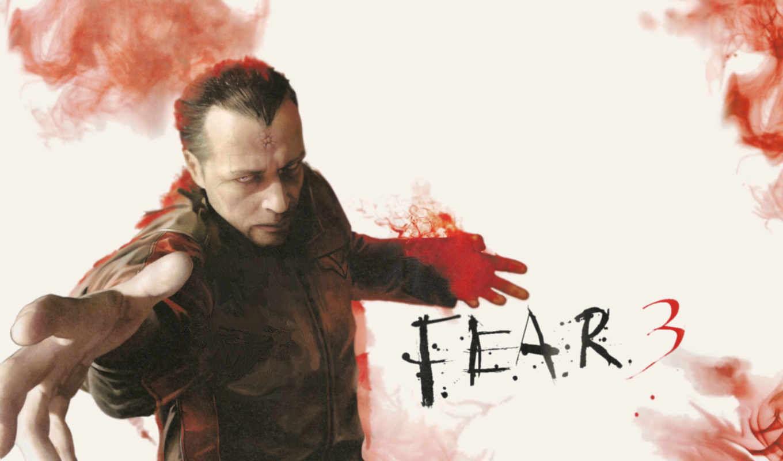 игры,fear 3, красное,страх