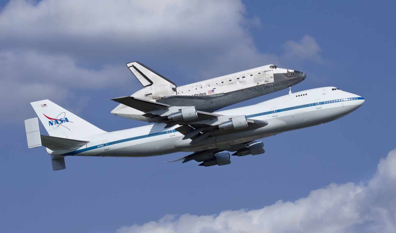 авиация, shuttle, nasa, boeing, discovery, оформления, обоях,