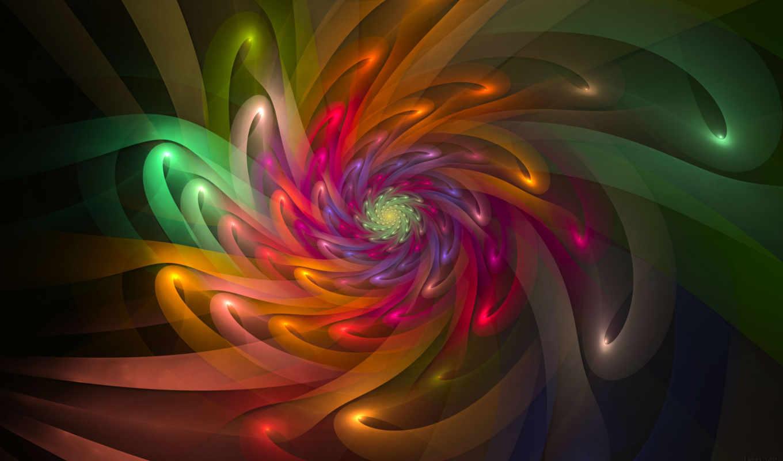 abstrakciya, количество, част, картинок, flowers,