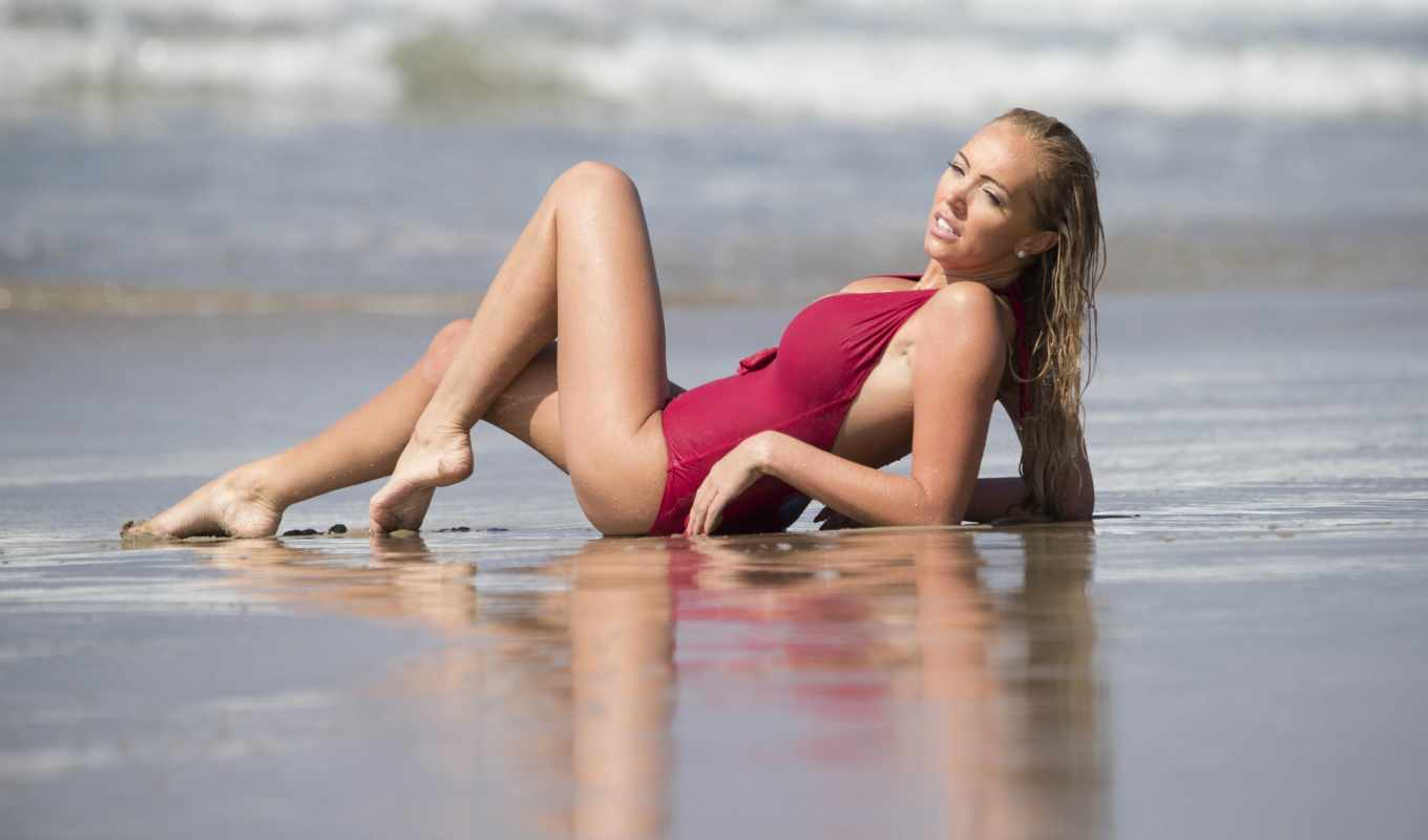 aisleyne, horgan, wallace, workout, angeles, baywatch, los,