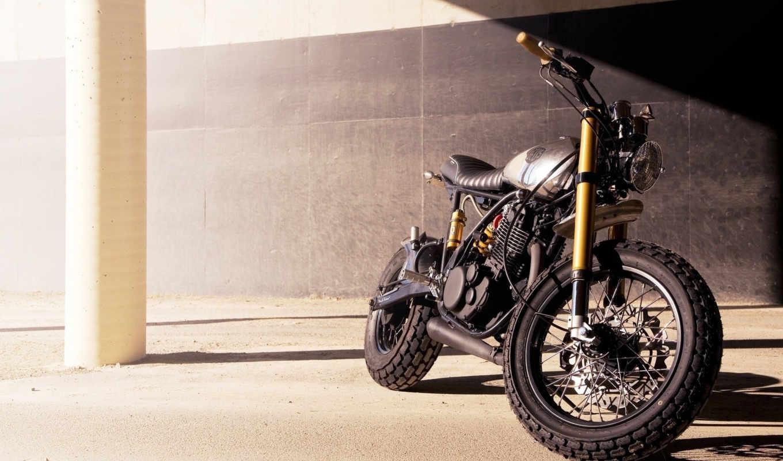 ,, deus, machina, мотоцикл, yamaha, модель, sr, class,