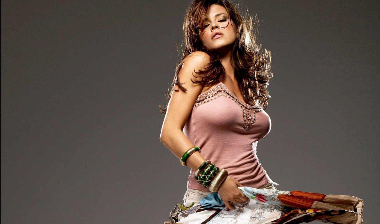девушка, alicia, machado, танец, волосы, грудь, photo, ecran, fond,