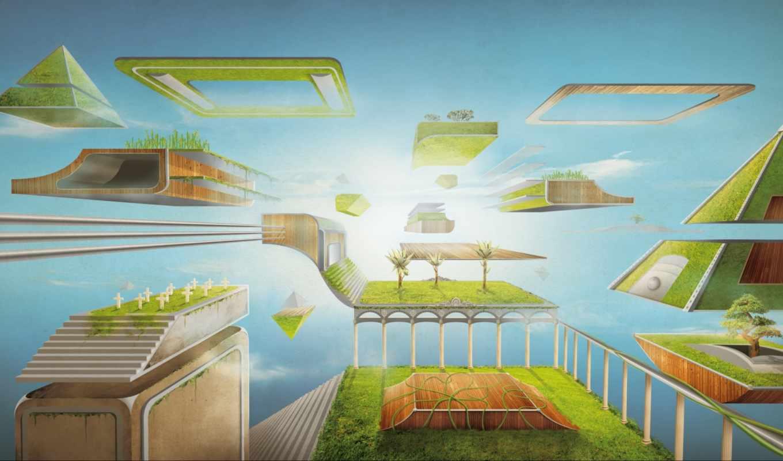 garden, desktop, high, widescreen,