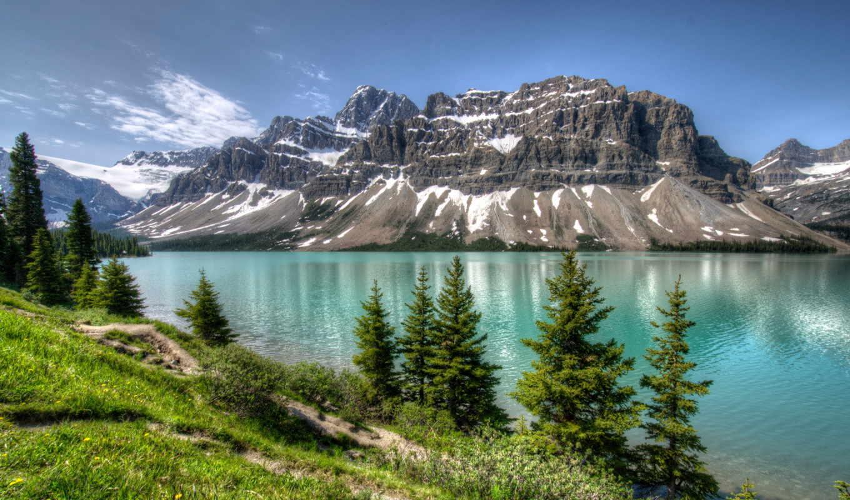 горы, смотреть, озеро, можно, природа, регулярно, красивые, весь, posts, банф, парки,