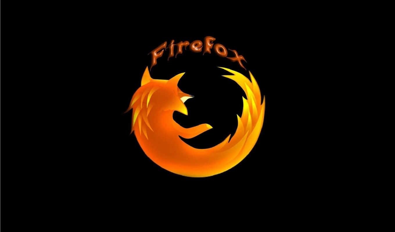 firefox, mozilla, лого, браузер, оранжевый