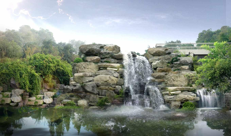 водопады, водопад,