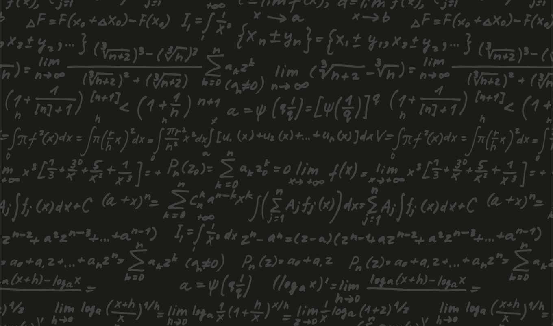 доска, формулы, черный, картинка,