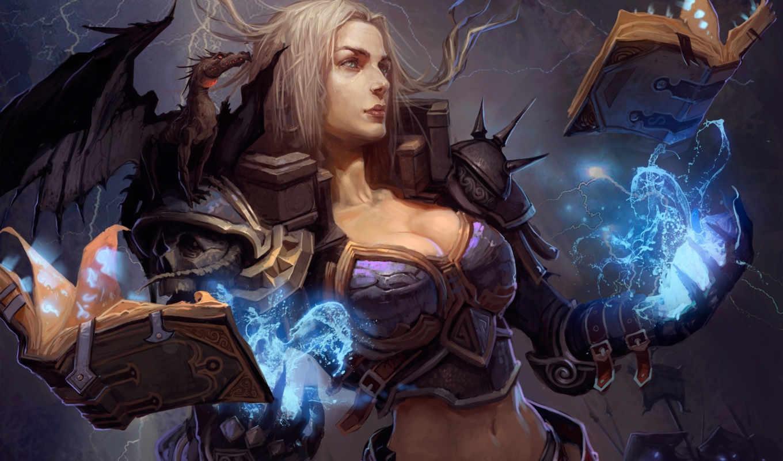 чародейка, рунная, берсерк, кки, крепость, воздушная, дмитрий, храповицкий, девушка, дракон, магия, книги,