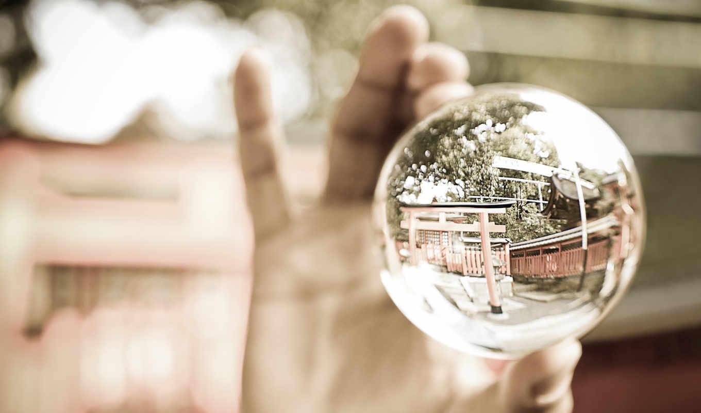 шар, glass, альбома, котором,