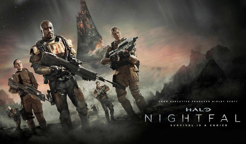 halo, master, chief, команда, guardians, nightfall,