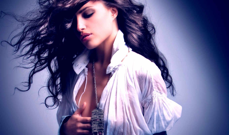 девушки, девушка, desktop, модель, girls, sexy, девушек, подборка, портрет, блузке, ласкает, категория, себя, модели,