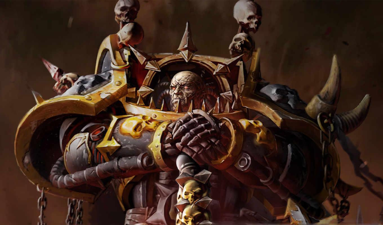 warhammer, хаос, war, dawn, космодесант, league, legends, console, space, искра, глаз,