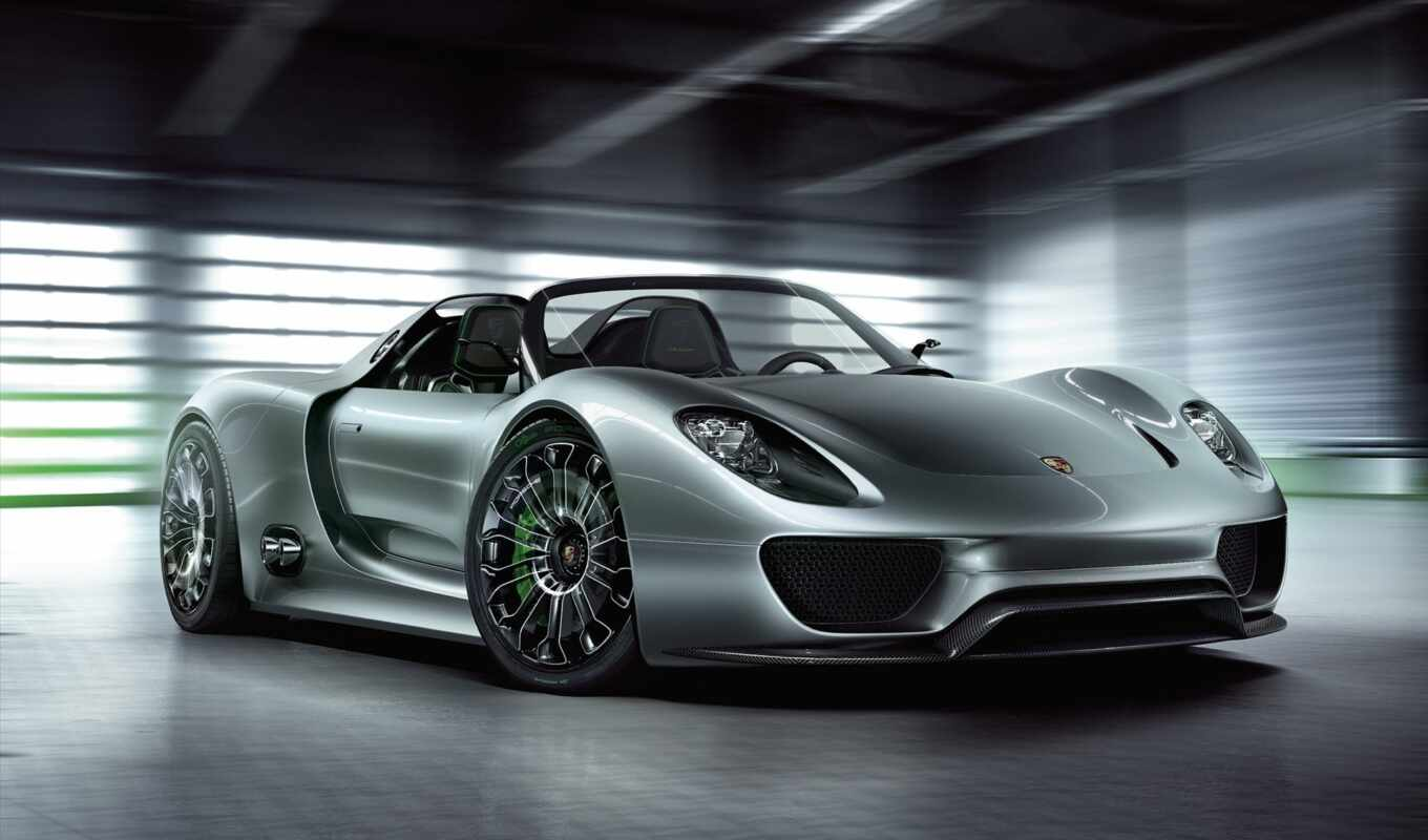 porsche, spyder, car, concept, la, hybrid, wallpaper, with, wallpapers, fotos, coraz,