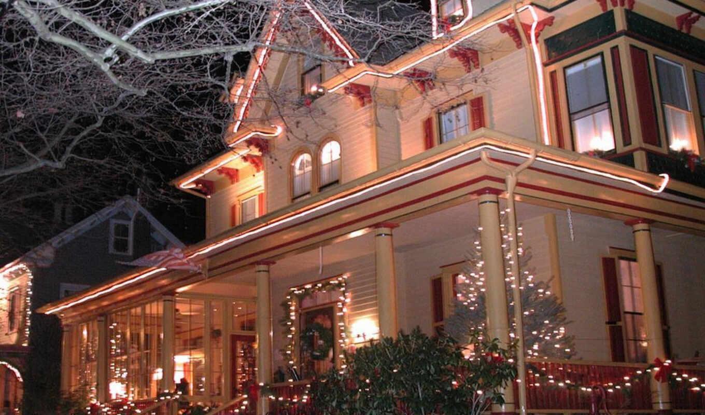 christmas, decorations, victorian, houses, home, newton, para, tour, презентация,