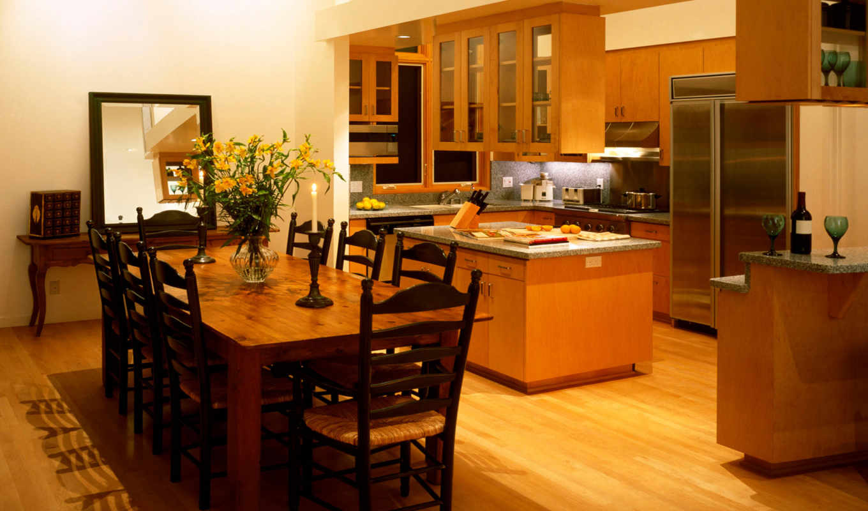 kitchen, dining, room, combining, modern, ideas,