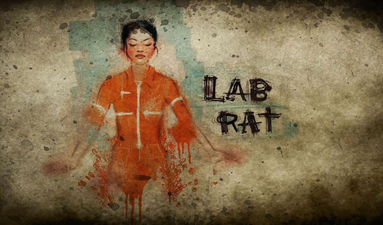 портал, lab, крыса, chell, комикс, лабораторная,