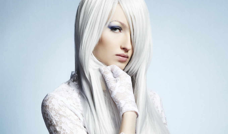 девушка, blonde, волосы, взгляд, белыми, волосами, растровый, пепельно, клипарт, девушки,