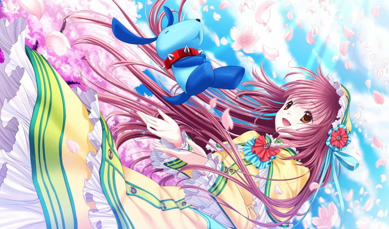 kobato, anime, картинка,