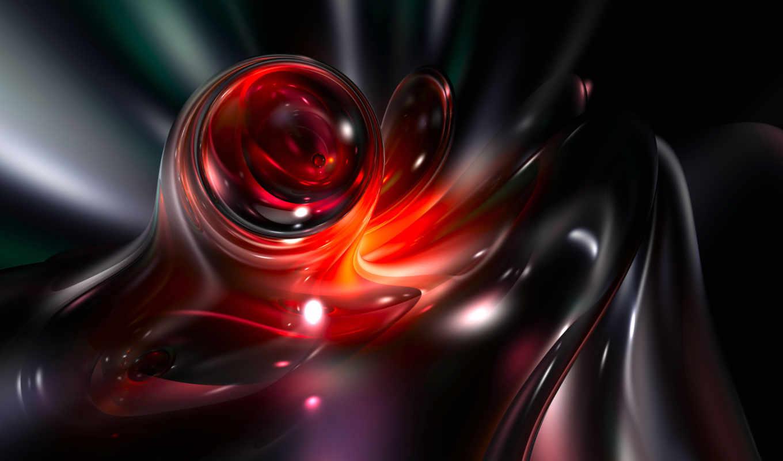 графика, цветы, абстракция, нов, fractals, разное, абстракции,