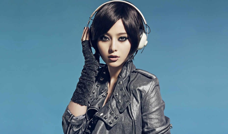 девушка, хит, наушниках, headphones, devushki, категория,