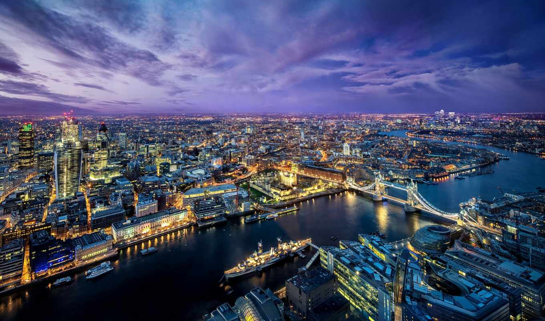 london, город, река, мост, огонь, великобритания, house, панорама
