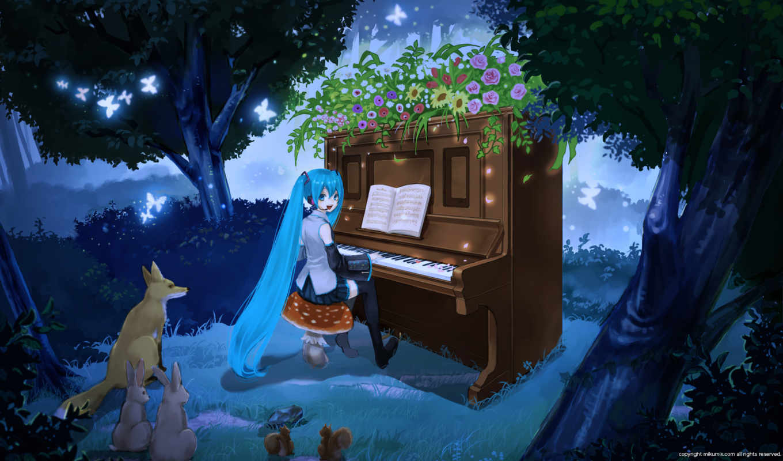 hatsune, vocaloid, anime, miku, girl, ³õòôî, music, you, vol, doujin, future, miu,
