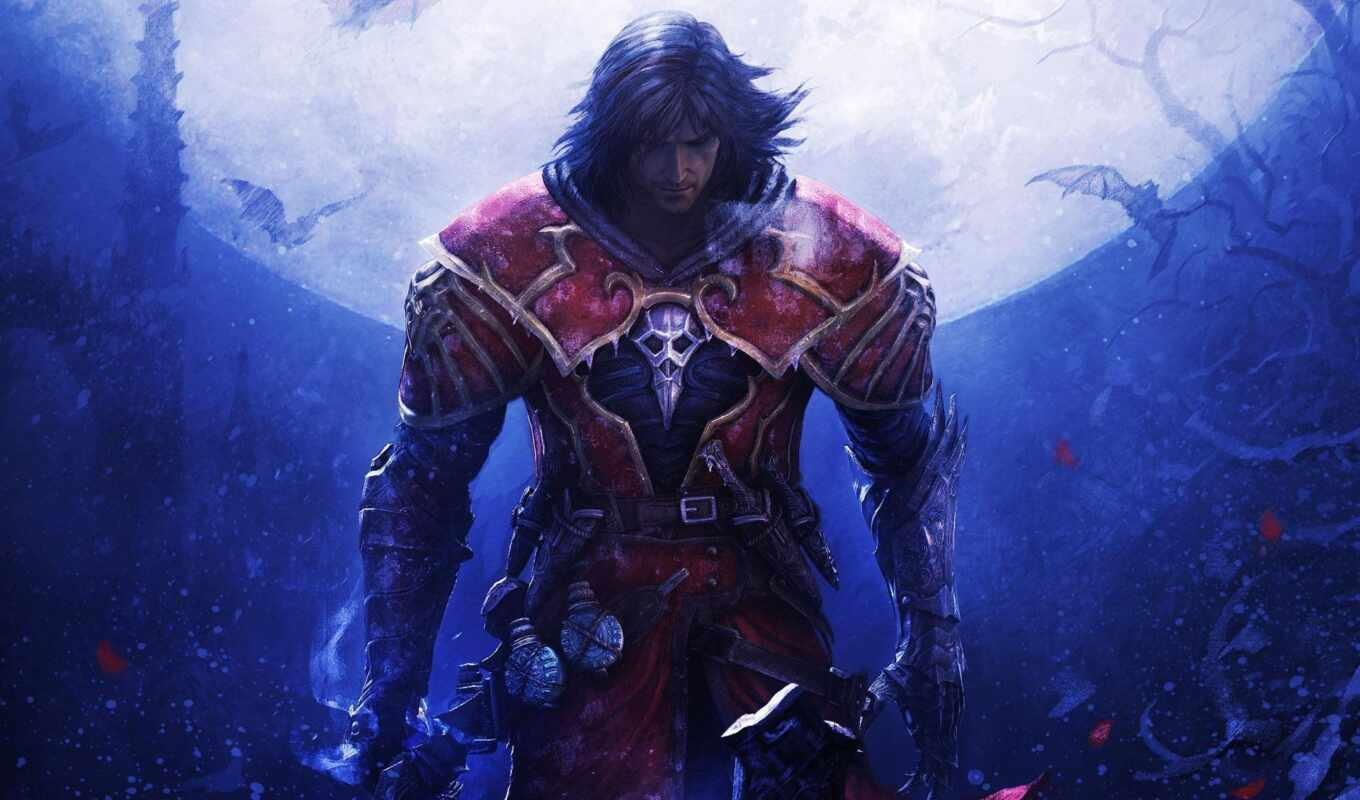 castlevania, shadow, lords, art, игры, зеркало, fate,