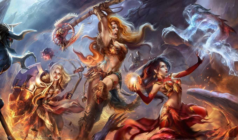 diablo, iii, art,