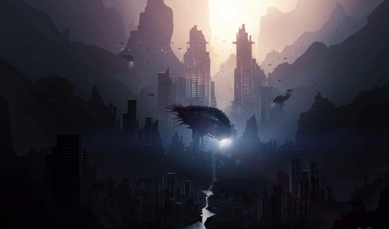 cyberpunk, desktop, монстры, favourite, images, игры,