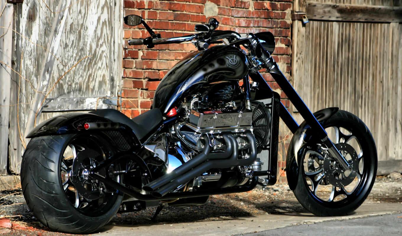 chopper, harley, davidson, мотоцикл, bike,