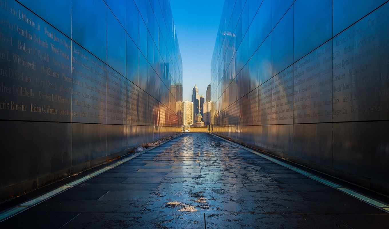отражение, ночь, longexposure, geotagged, newyork, nyc,
