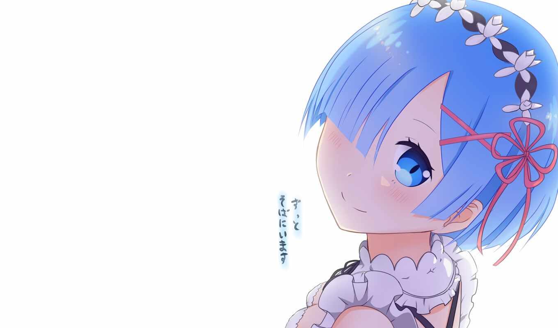 zero, rem, dekocar, uploaded, изображение, wishing, anime,