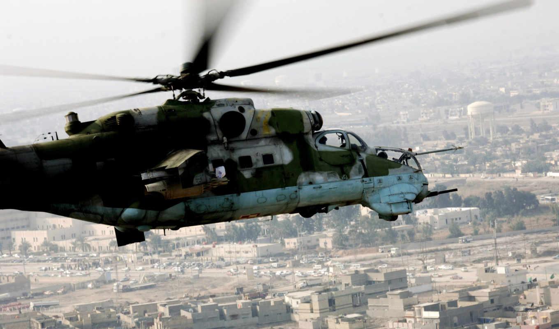 ми, вертолет, полет, миль, hind, вертолеты, россия, война, pictures, широкоформатные,