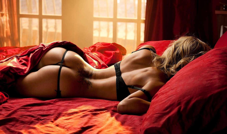 girls, девушек, красивых, постель, playboy, тату, lingerie, трусики, попка, девушки,