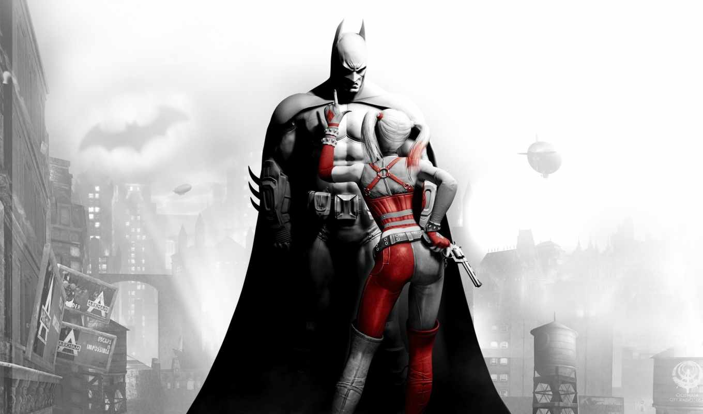 batman, arkham, city, harley, quinn, игры, istop, download,