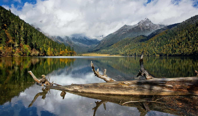 озеро, пароль, windows, log, гора, login, you,